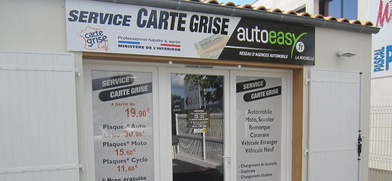 Photo du garage SERVICE CARTE GRISE LA ROCHELLE