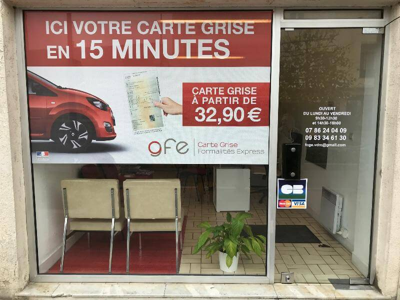 Carte Grise Minute.Etablissement Agree Carte Grise Carte Grise Formalite