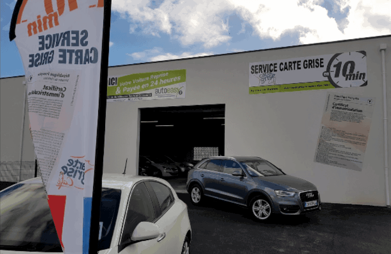 Photo du garage SERVICE CARTE GRISE VANNES